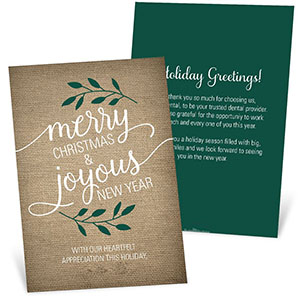 New Business Christmas Card Messages