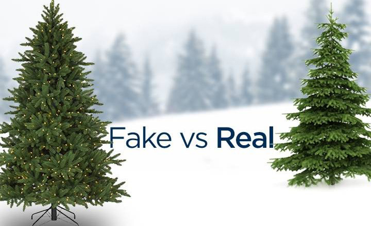 Real Christmas Trees vs artificial trees