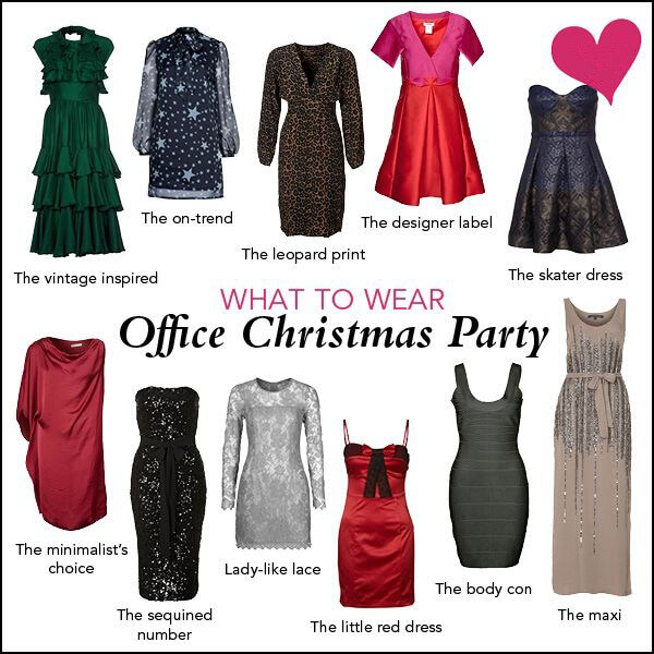what to wear on a office christmas party