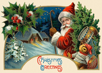 Old Christmas Greeting Cards