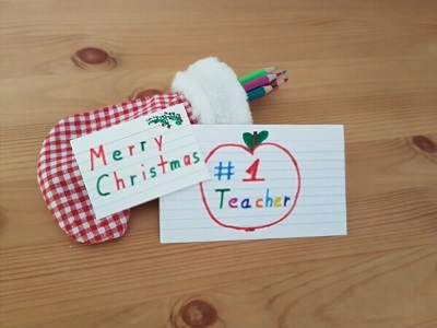 christmas teacher message