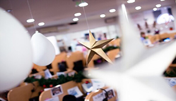 office christmas decoration Ideas
