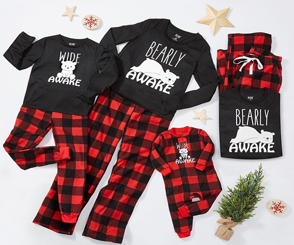 wear christmas pajamas